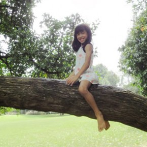Tree climbing is good for our children