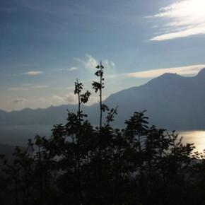 Kintamani, where Mount Batur is still active