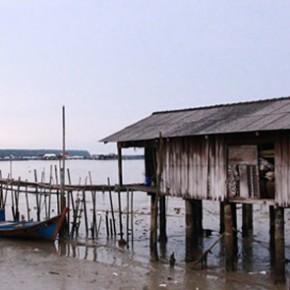 Kukup, Malaysia - kelong, nature and life
