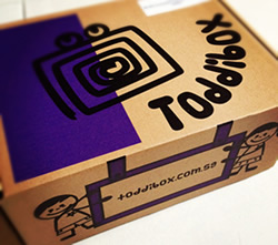 {Product Review & Giveaway - Closed} Toddibox - enriching minds, enriching lives