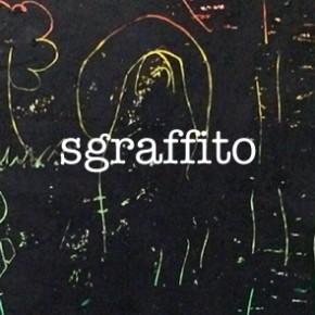 Sgraffito using oil pastels