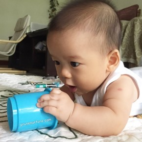 Choose simple play objects for infants, the RIE™ Way