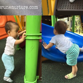 Building core strength for toddler